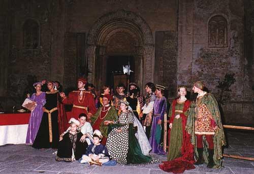 Medieval August in Ventimiglia